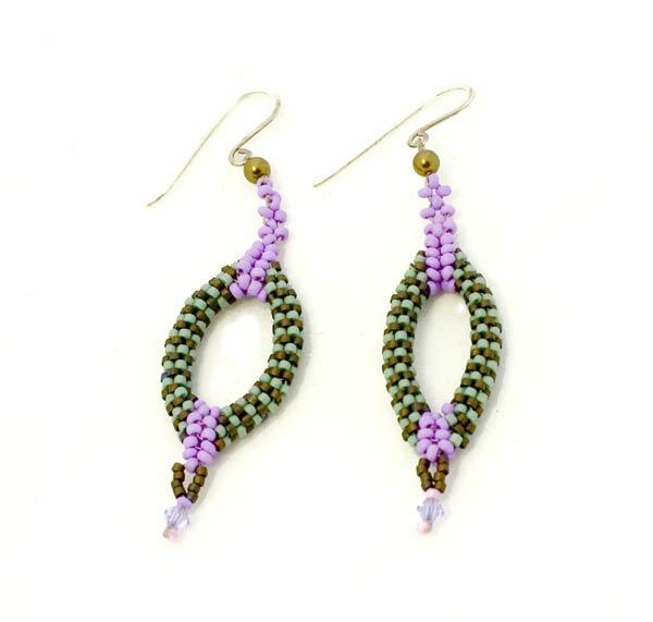 Stripy-earrings